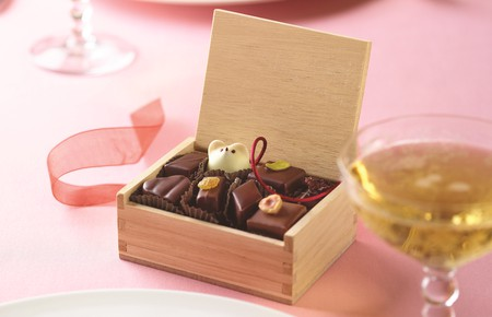 A Valentine's Day assortment from L.A. Burdick | image courtesy of L.A. Burdick