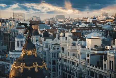 Madrid at Sunset  © Creative Lab/Shutterstock