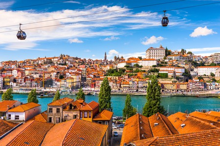 Porto, Portugal old town on the Douro River| © ESB Professional/Shutterstock