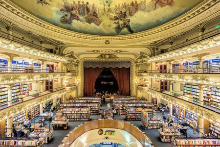 El Ateneo Grand Splendid is one of the best known bookshops in Buenos Aires, Argentina © guillermo_bsas/Shutterstock