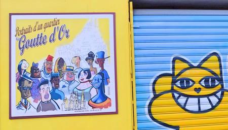 M. Chat and Portraits d'un Quartier, La Goutte d'Or │© Jeanne Menjoulet / Flickr