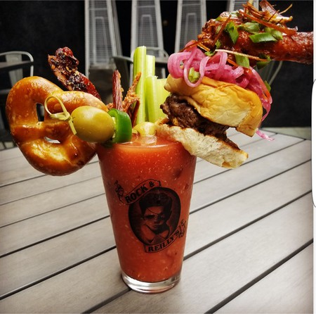 A Bloody Mary at Rock & Reilly's   Courtesy of Rock & Reilly's
