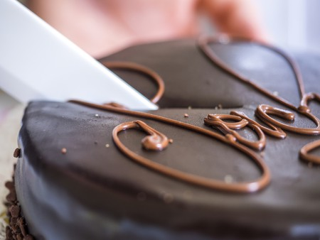 There are plenty of elegant cafes in which to enjoy the Viennese Sachertorte