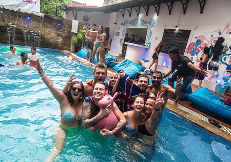 Funky Flashpacker is the latest party place in Siem Reap ©  Funky Flashpacker