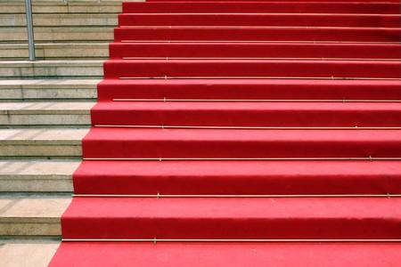 The red carpet on the famous La Croisette Boulevard, Cannes, France | © elen_studio/Shutterstock