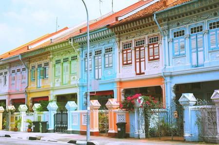 Terraced houses along Koon Seng Road | © Jpatokal./WikiCommons