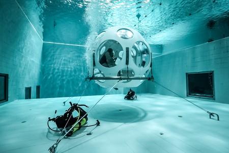 Underwater restaurant The Pearl | Courtesy of Nemo33