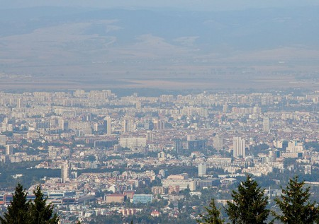 A view of Sofia from Vitosha Mountain   © Bin im Garten/WikiCommons