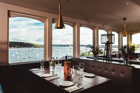 The view from the Star & Garter's dining room | © The Star & Garter