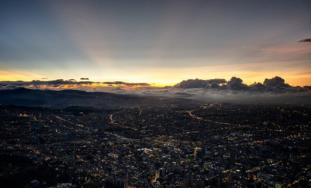 Bogotá Skyline Just After Sunset | © Fernando Garcia / Flickr