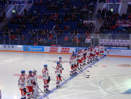 Czech National ice hockey team   ©Chan-Fan / Wikimedia Commons