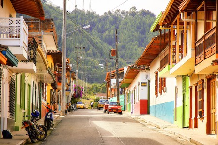 Jardin, A Quant Small Town in Colombia