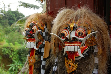 Wooden Barong Mask | © Rollan Budi / Flickr