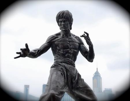 A Bruce Lee statue in Hong Kong | Sherpas 428/Flickr