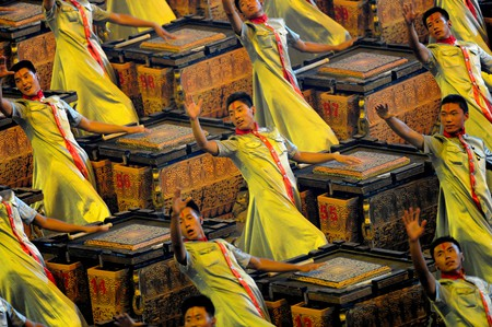 2008 Beijing Olympics Opening Ceremony Directed by Zhang Yimou  | ©U.S. Army/Flickr