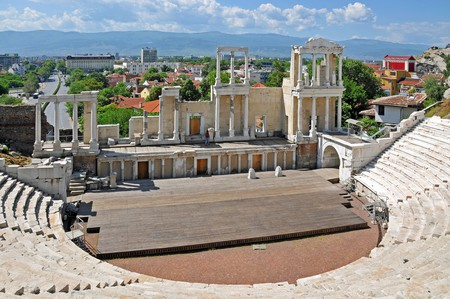 Ancient Theater in Plovdiv  | © Dennis Jarvis /Flickr