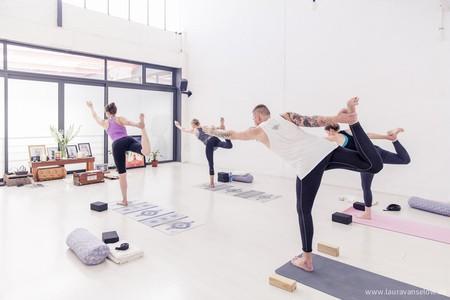 Air Yoga studio, Cape Town | © Laura Vanselow, courtesy of Air Yoga