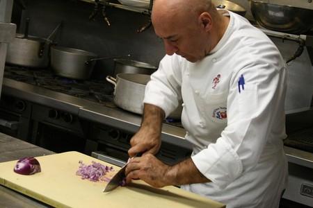 Al Tiramisu chef Luigi Diotaiuti teaches one of his popular cooking classes   © Shashi Bellamkonda /  Flickr