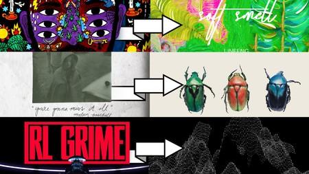 Album artworks courtesy of artists