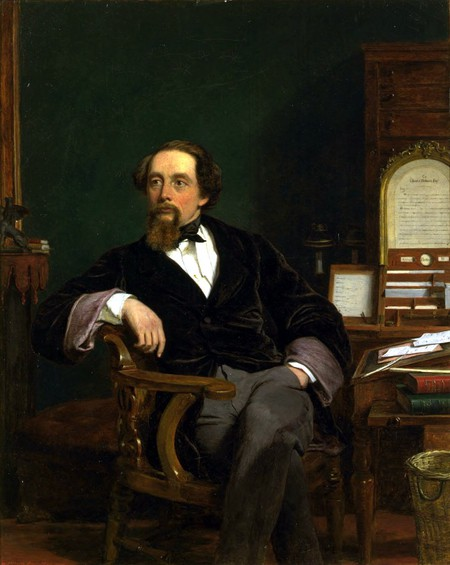 Portrait of Charles Dickens by William Powell Frith (1859) / WikiCommons