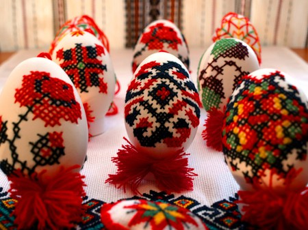 Painted Easter eggs | © Qypchak/WikiCommons