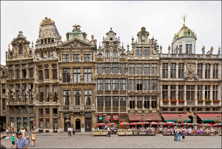 The guild houses on the famed Grand Place in Brussels, Belgium    © E.Danhier / Courtesy of visitbrussels.be