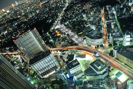 Aerial view of Ikebukuro at night | © nattou/WikiCommons