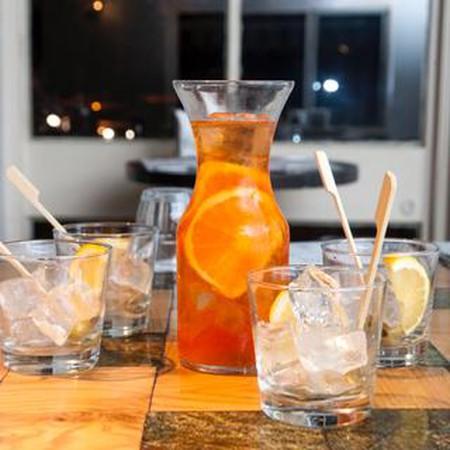 Refreshing drinks at Tel Aviv's great Cicchetti Italian eatery and bar |Courtesy of Studio Y&O