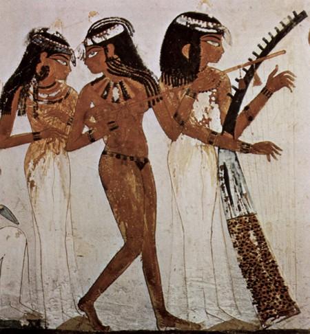Female musicians | © Maler der Grabkammer des Nach / WikiCommons