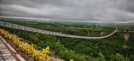 Meshkin Shahr Suspension Bridge | © Hmdbani / Wikimedia Commons