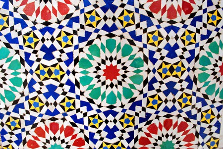 Bright zellij tiles in Morocco |© just_a_cheeseburger / Flickr