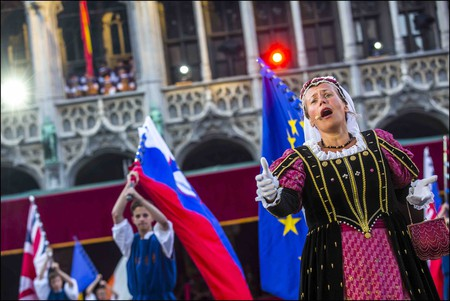 The Ommegang parade, Brussels's annual medieval feast   Courtesy of visitbrussels.be