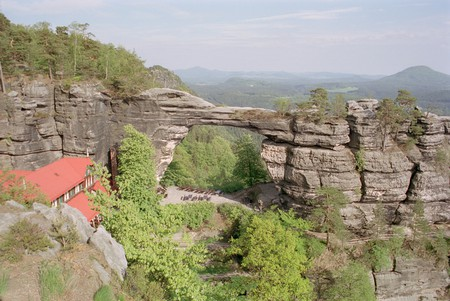 Pravčická brána in Bohemian Switzerland  | ©Olaf1541  / Wikimedia Commons