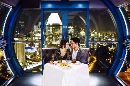 Premium Sky Dining Flight | Courtesy of the Singapore Flyer