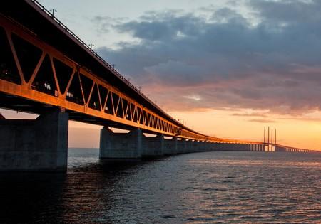 Öresund Bridge connects Malmö and Copenhagen | ©L.E Daniel Larsson/Flickr