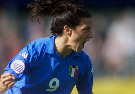 Patrizia Panico is Italy's all-time leading goal scorer | © THOMAS KIENZLE/AP/REX/Shutterstock