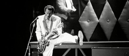 Chuck Berry was famous for his 'duck walk' dance move | © AP/REX/Shutterstock