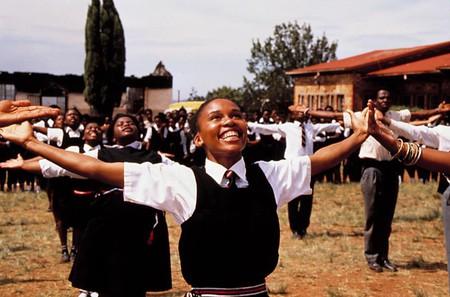 Leleti Khumalo in Sarafina!   Courtesy of Miramax