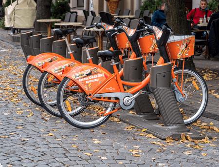 Cyclo City Bikes in Vilnius | © Sergey Galyonkin/Wikimedia Commons