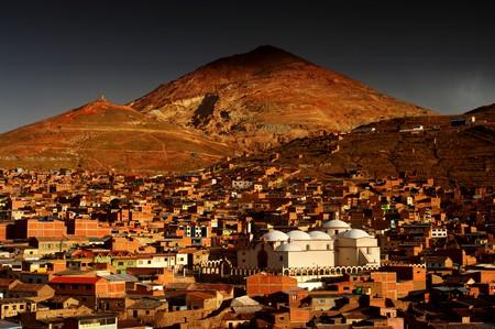 Potosi and its mines, Bolivia