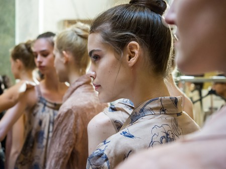 Backstage at Fashion Week  © Marco Aprile/Shutterstock