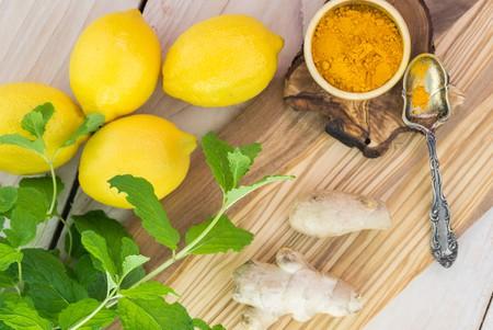 Lemon, ginger and turmeric | Shutterstock