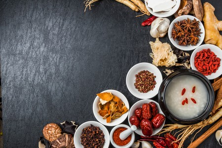 TCM herbs and ingredients | Shutterstock