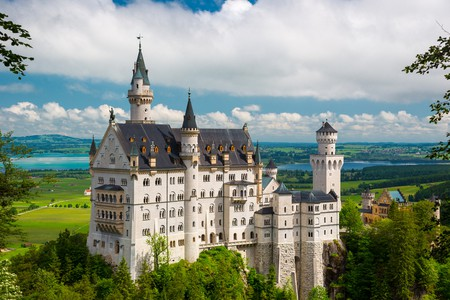 19th Century Neuschwanstein Castle