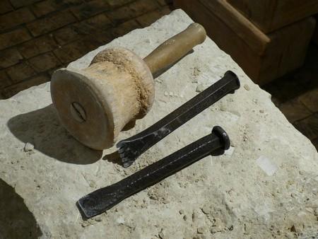 Stonemasonry tools │© falco / Pixabay