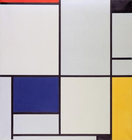 Tableau I, by Piet Mondriaan | © wikiart