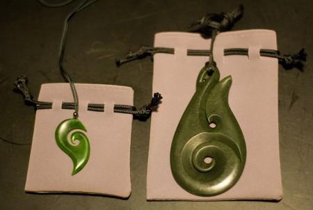 Pounamu Jewellery   © Amanda Wood/Flickr