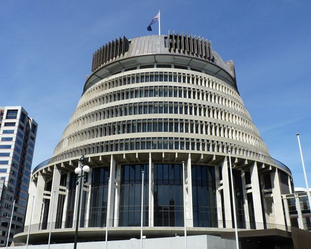 Beehive, Wellington | © Michal Klajban/Wikimedia Commons