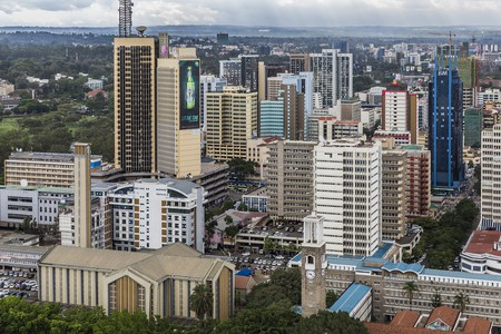 Nairobi city center, Kenya | © Ninara/Flickr