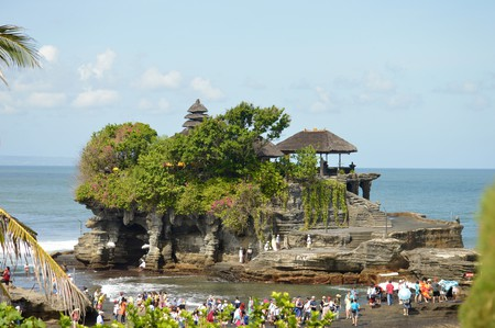 Tanah Lot Sea Temple in Bali | © Megan Coughlin / Flickr